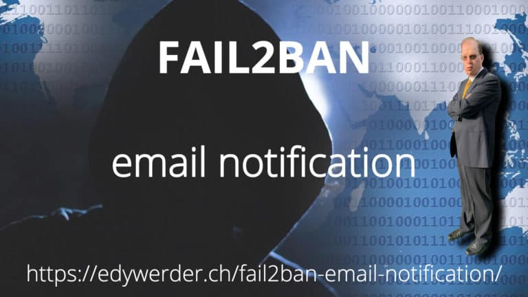 Fail2ban email notification