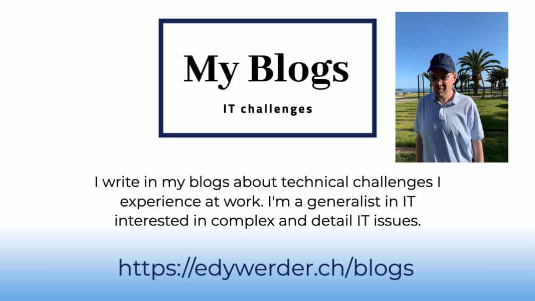 blogs IT challenges
