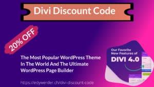 Divi discount code