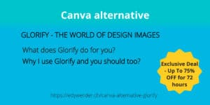 Canva alternative Glorify Canva