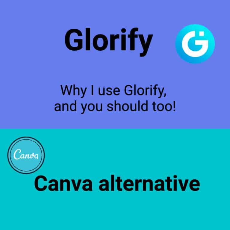 Canva alternative Glorify