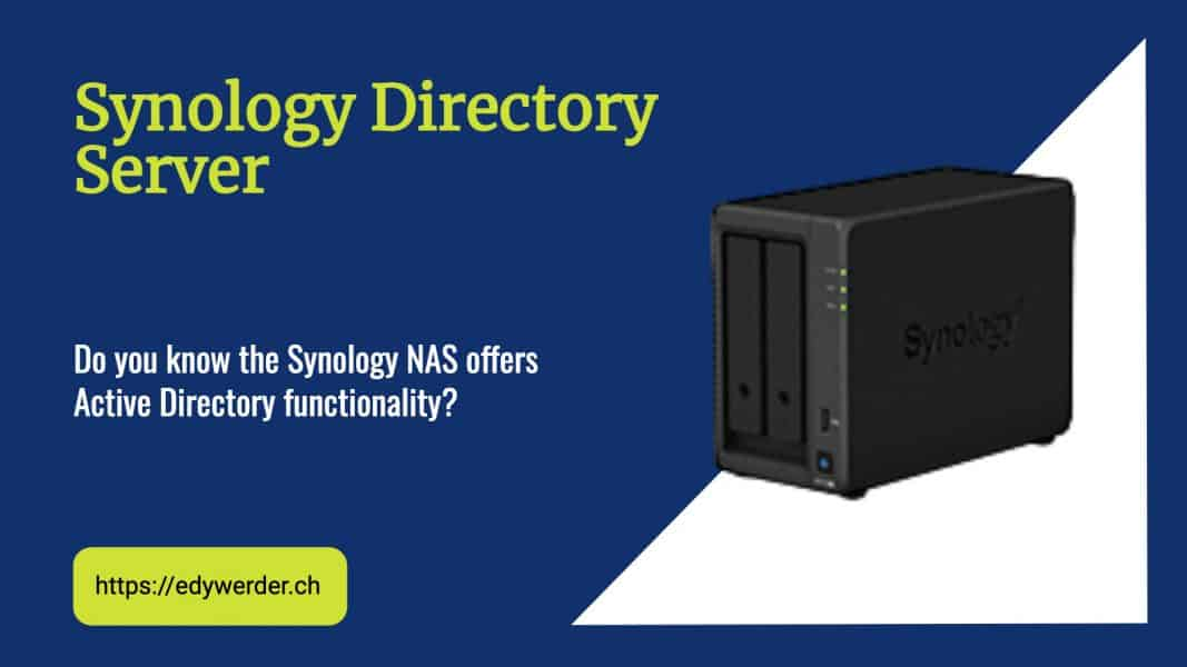 Synology Active Directory Server