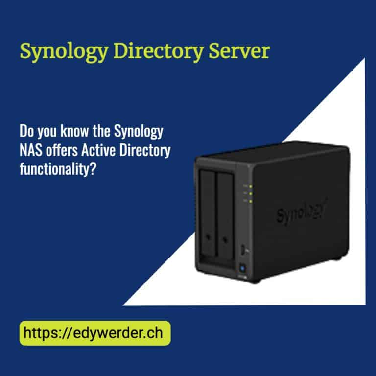 Synology Directory Server